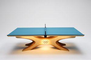 リオデジャネイロオリンピック、パラリンピックで公式卓球台として採用されることになった「インフィニティ」