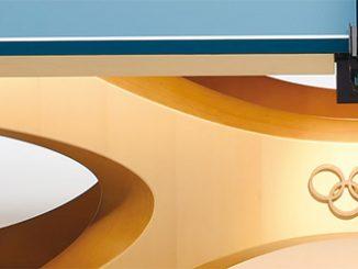 三英と天童木工が五輪公式卓球台を共同開発