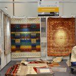 ウール100%の手織りカーペットを提案したアイシャー・インターナショナル社