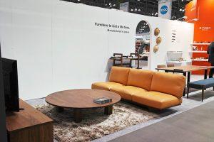 ロータイプの家具で日本の生活スタイルを提案